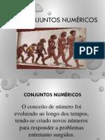 Conjuntos numericos