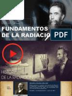 fundamentos de la  radiación