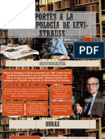 Aportes a La Antropología de Levi Strauss
