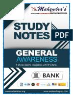 Ga Study Notes 18-02-19 English