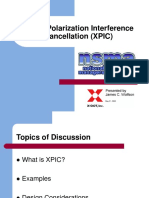 Cross Polarisation Interface Cancel