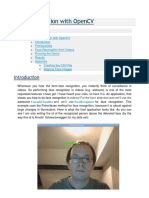 Face Recognition in With OpenCV