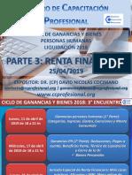 CICLO DE GANANCIAS Y BIENES - 3° ENCUENTRO 25.04.2019 C