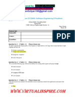 Complete Solved Paper of Cs 605