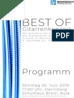 Best of Programm 2019