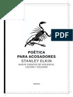 Intro Poetica Para Acosadores Elkin