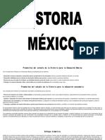 PLANEACION DE HISTORIA DE MEXICO