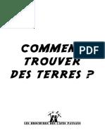 Brochure Recherche Terres