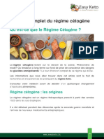 Guide complet du régime cétogène