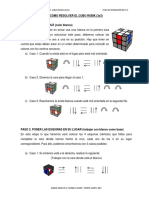 Resolver El Cubo Rubik