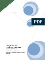 Manual de Prática Penal I - Material Completo