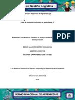 Los derechos humanos en el marco personal y en el ejercicio de mi profesión.pdf