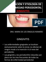 Clasificación y Etiología de Periodontitis
