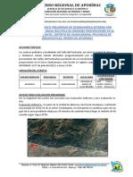 Informe Geologico Preliminar Chamanayoc
