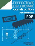 [Macmillan Electronic Projects Series] John Watson (Auth.) - Cost-effective Electronic Construction (1985, Macmillan Education UK)