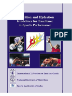 Nutrition and Hydration Guidelines for Excellence in Sports Performance