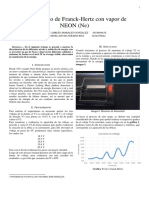 Informe Franck Hertz