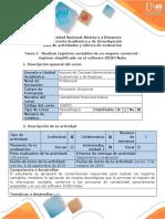 Guía de Actividades y Rubrica Evaluacion - Tarea 2 - Realizar Registros Contables