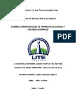 Auditoría Administrativa y de Gestión Segundo..