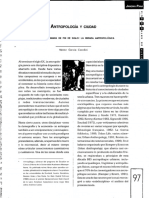 Garcc3ada Culturas Urbanas de Fin de Siglo La Mirada Antropolc3b3gica 1