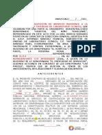Modelo de Contrato Estudios de Laboratorio 2018 Final