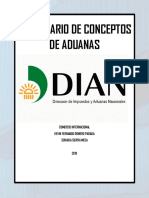 DICCIONARIO DE ADUANAS