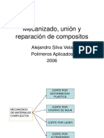 Mecanizado, Unión y Reparación de Compositos