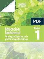 Educacion Ambiental Para La Gestiona Del Riesgo