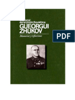 Zhukov, Gueorgui. Memorias y Reflexiones