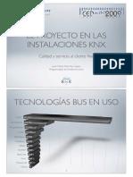 07 La Necesidad Del Proyecto en Las Instalaciones KNX. Calidad y Servicio