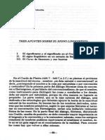 Tres apuntes sobre el signo lingüístico.pdf