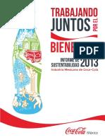 Informe de Sustentabilidad Coca Cola 2013