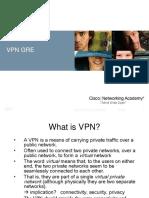 Materi VPN GRE