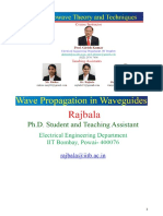 Wave Proagation in Waveguides - Nptel Material