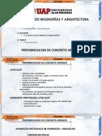 Correa Benito Carlos Esleyter - Prefabricación en Concreto Armado