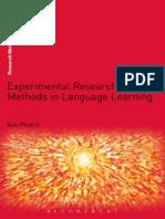 (Research Methods in Linguistics) Aek Phakiti-Experimental Research Methods in Language Learning-Continuum Publishing Corporation (2014).pdf