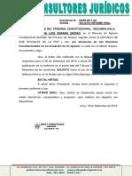 Solicito Informe Oral Tc