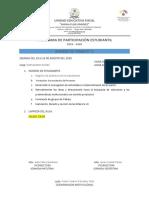MODELO DE ACTIVIDADES PARA PPE