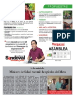 Ministro de Salud recorrió hospitales del Meta