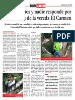 Casi tres años después y nadie responde por los muertos de la vereda El Carmen en Villavicencio