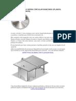 Como construir uma serra circular de bancada