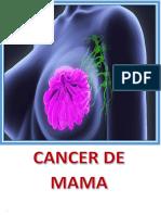 Cancer de Mama Monografia Malogrado Por Melendez
