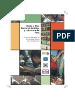Plan Nacional Libro Lectura