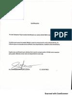 Carta Certificacion Sebastian Rojas