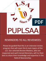 Puplsaa Review 2018