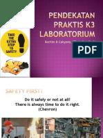 Pendekatan Praktis K3 Laboratorium 2018