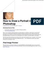 How to Draw a Portrait in Photoshop