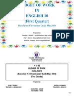 BOW English 10 Q1