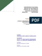 INFORME PARAMETROS GEOMORFOLOGICOS