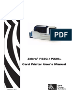 Zebra p330i Printer & Zebra p330m User Manual
